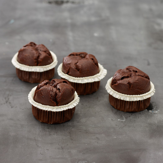 Muffins chocolade glutenvrij
