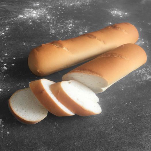 Stokbrood wit afbak (verpakt per 2) glutenvrij