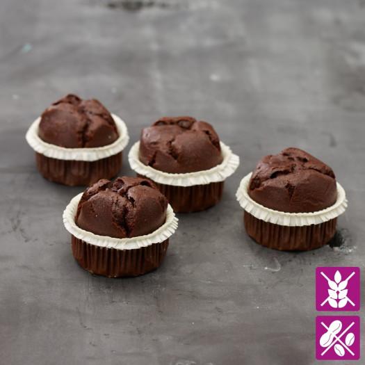 Chocolade muffins glutenvrij